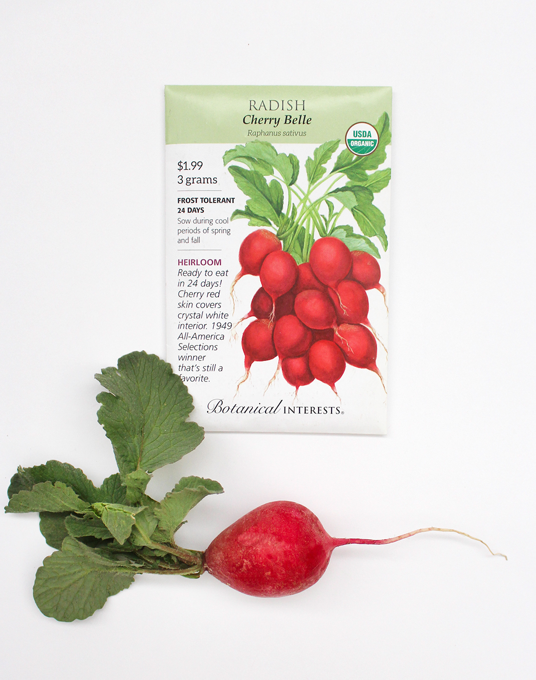 Botanical Interests® 'Cherry Belle' Radish Seeds