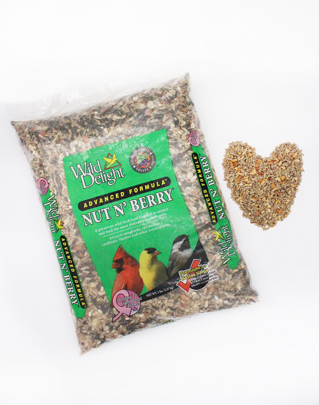 Wild Delight Nut N' Berry™ Premium Wild Bird Food