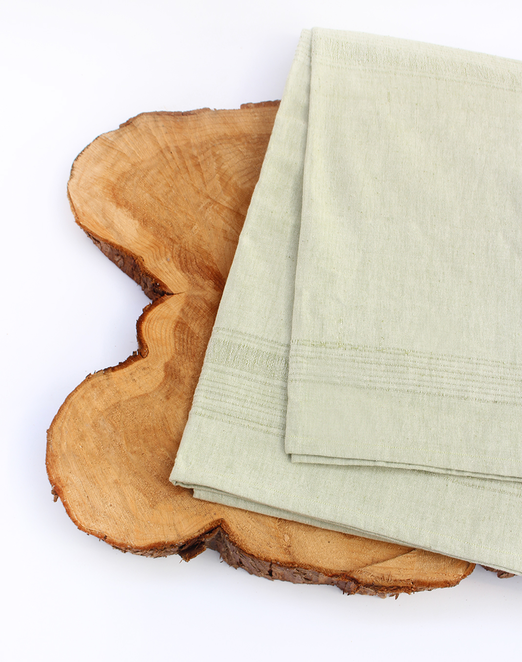 Sustainable Threads Table Cloth - Fennel