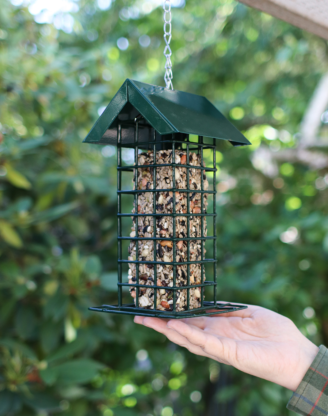 Block Bird Feeder