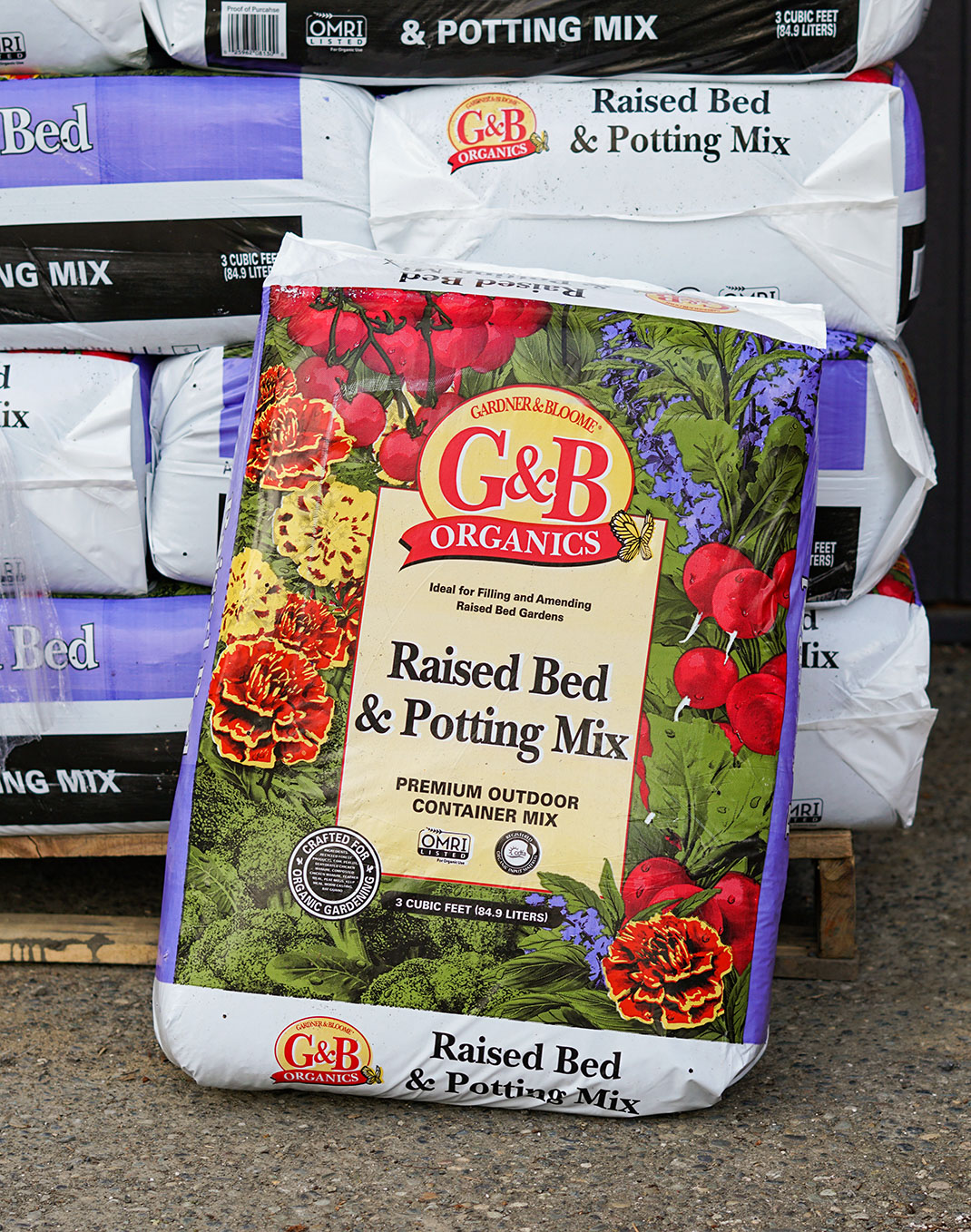 Raised Bed and Potting Mix