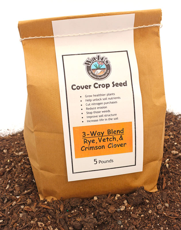 Cover Crop Seed Blend for any type of soil
