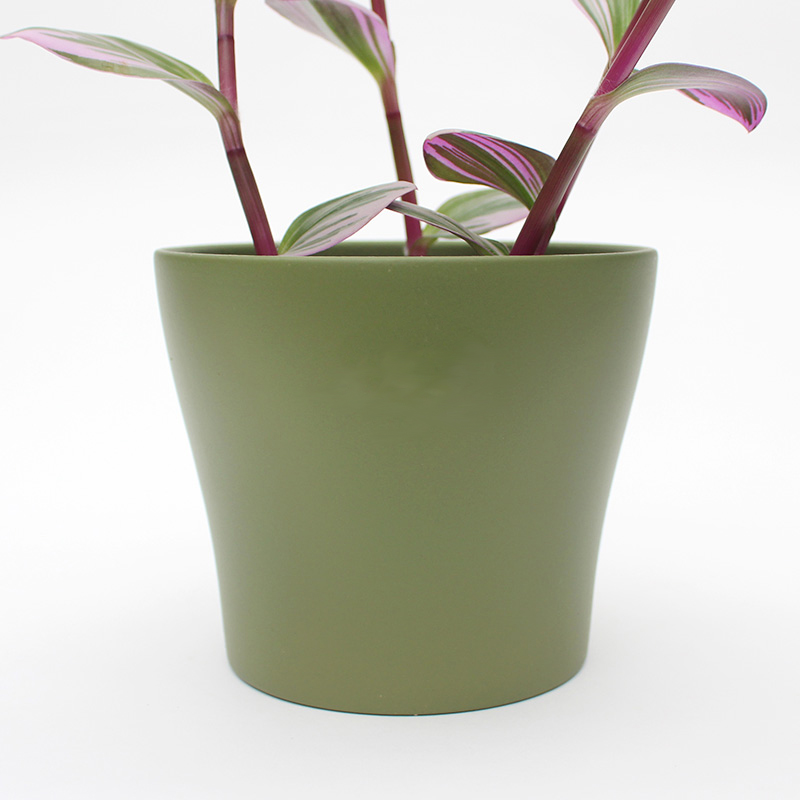 Large Olive Green Planter