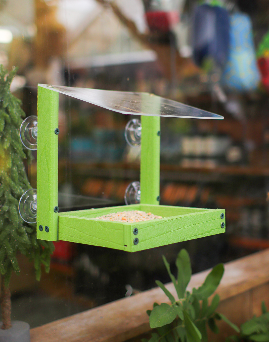 Going Green Bird Feeder