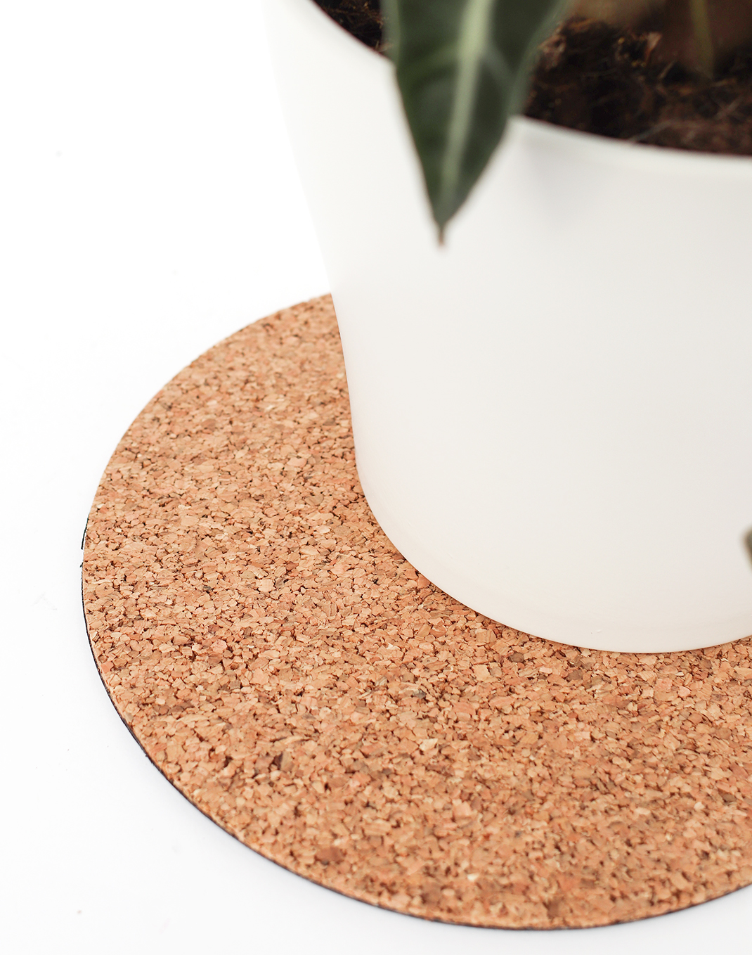 Eco Cork Plant Mat - 8 in.