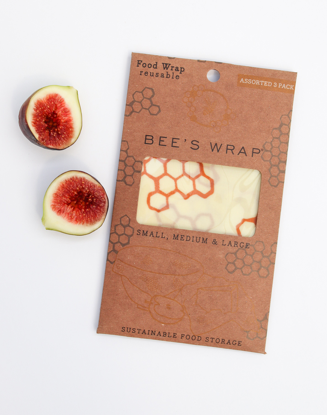 Bee's Wrap® Assorted 3 Pack - Honeycomb