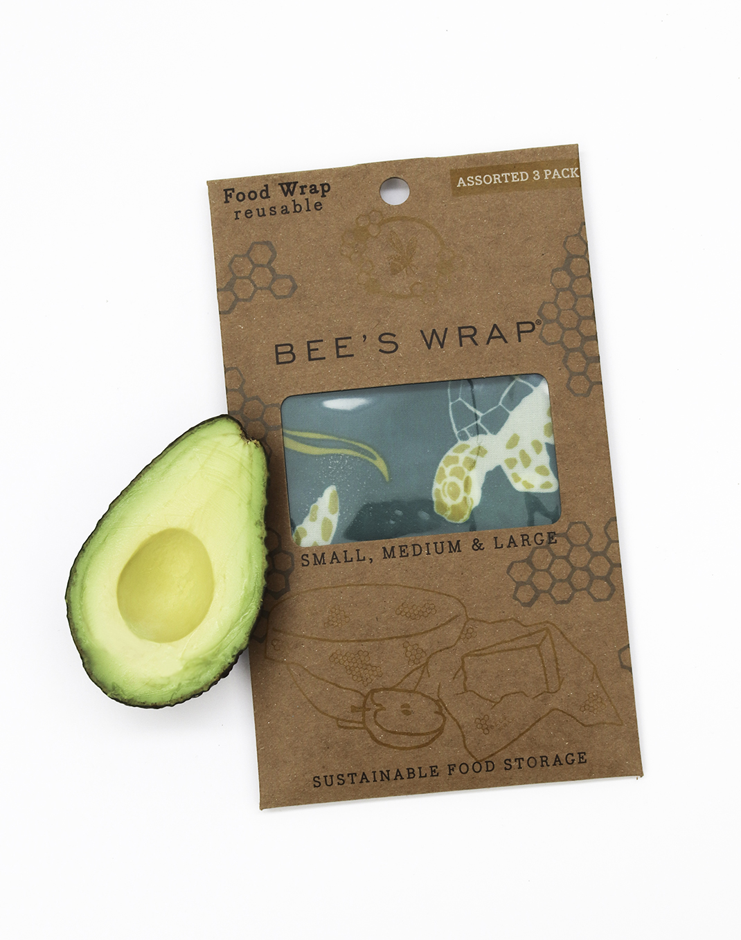 Bee's Wrap® Assorted 3 Pack - Ocean