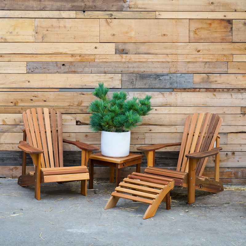 Cedar Outdoor Finished Furniture - Adirondack