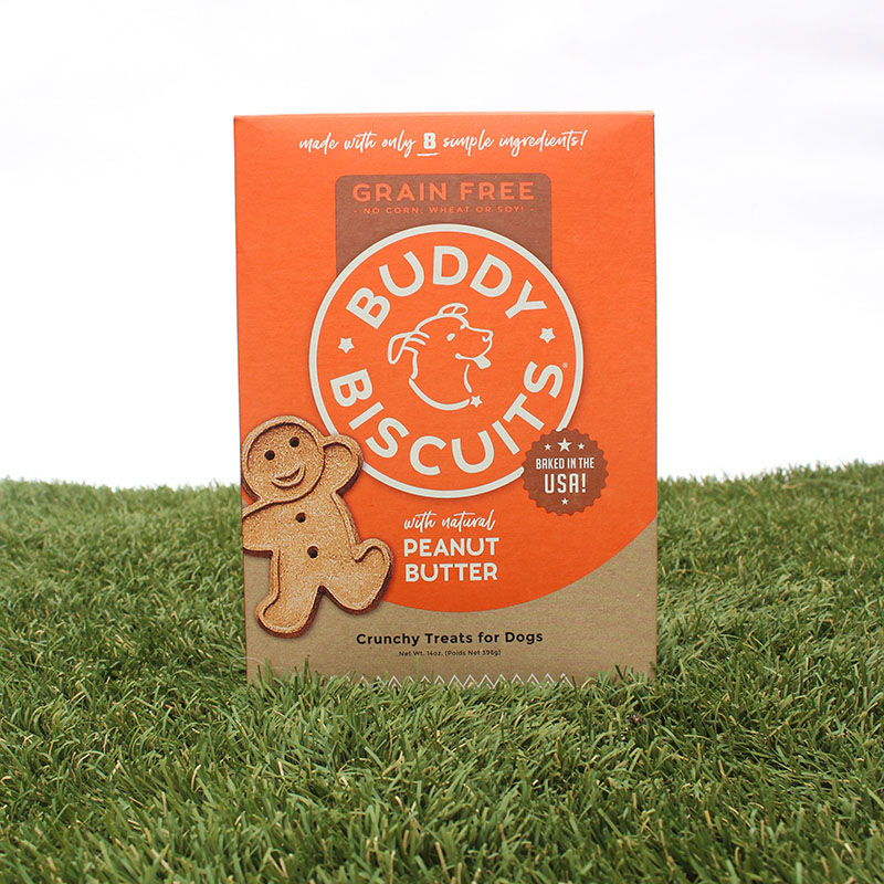 Buddy Biscuits Grain Free - Peanut Butter
