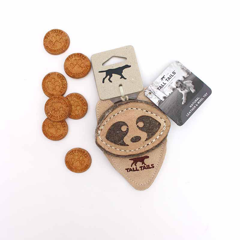 Raccoon Natural Dog Toy