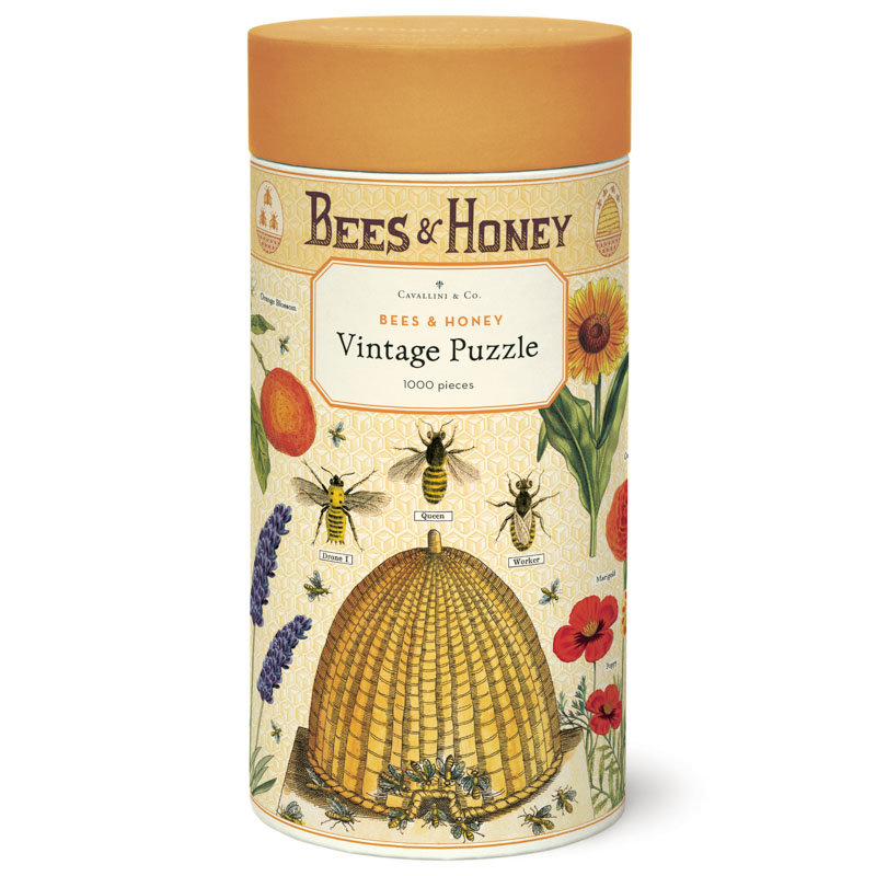 Cavallini & Co ® 1000 Piece Puzzle - Bees & Honey