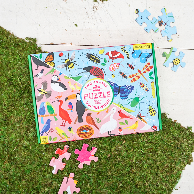 100 Piece Birds and Bugs Puzzle