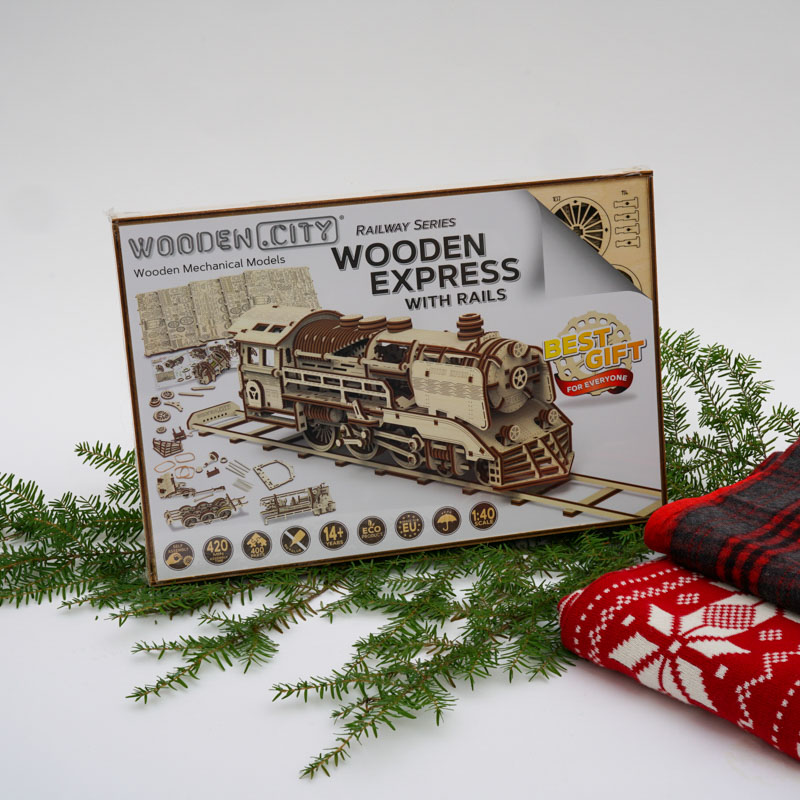 Woodencity Wooden Express