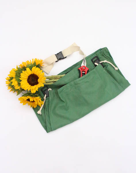 Joey Garden Apron - Leaf Green