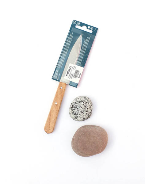 Opinel French Serrated Knife - Natural